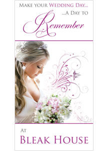Wedding brochure cover